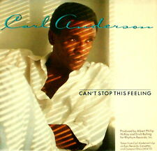 """CARL ANDERSON """"CAN'T STOP THIS FEELING/A Woman In"""" EPIC 06357 (1986) 45 & PIC SL"""