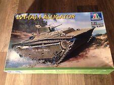 "1/35 Italeri LVT A 1 Alligator w/ 3.7 in Cannon # 6384 ""2001"" NIOB"
