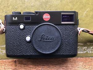 leica m typ 240 digital rangefinder. camera body. black. v.good condition