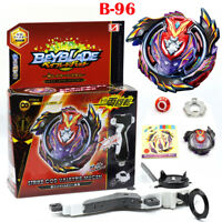 Beyblade Burst B-96 STRIKE GOD VALKYRIE.MUGEN Funsion With Launcher + Grip Toy