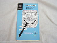 VINTAGE OS ORDNANCE SURVEY 2 1/2 INCH MAP of THWAITE (YORKSHIRE) ~ SHEET SD 89
