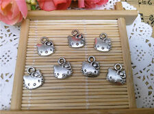 LOT DE 10   BRELOQUES****EN METAL HELLO KITTY