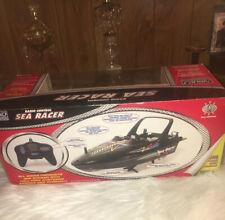 Vintage Nikko Radio Control Sea Racer Remote control Black boat Christmas Gift