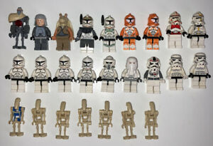 Lego Star Wars 25 Minifigure Lot