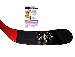 Dan Cleary Signed Detroit Red Wings Game Used Stick JSA COA