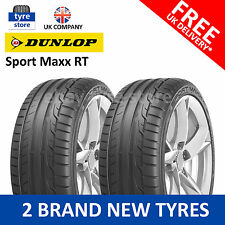 2X New 215/45/17 Dunlop Sport MAXX RT  91Y XL 2154517 215 45 17 (2 TYRES)