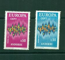 Andorra (French) #210-11 (1972 Europa) VFMNH CV $21.00