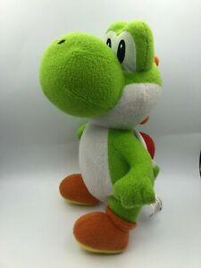 Super Mario Bros Green Yoshi Nintendo 2010 Plush Kids Soft Stuffed Toy Animal