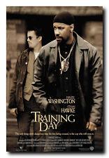 Training Day Movie Poster 24x36 Inch Wall Art Portrait Print - Denzel Washington