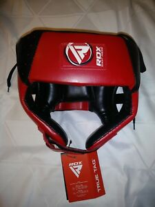 New with Tags RDX Giant Inside Padded Adjustable Red/Black Junior Head Gear