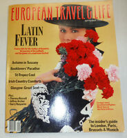 European Travel & Life Magazine Marie Sara At the Feria September 1988 103114R