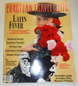 European Travel & Life Magazine Marie Sara At the Feria September 1988 103114R