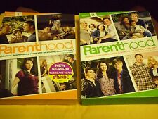 (2) Parenthood Season DVD Lot: Seasons 1 (NEW) & 2   w/Slipcovers   9 DVDs