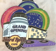 Hard Rock Cafe Podgorica 2015 Grand Opening Party Go Pin - Hrc Catalog #82222