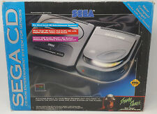 Sega CD Model 2 Console - Complete in Box! *Tested & Works!* Excellent!