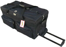 "Large 30"" Duffel Bag 8991 Rolling Wheeled Luggage  Airline  Wheels Duffle Travel"