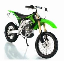 Maisto 1:12 KAWASAKI KX450F Motorcycle Bike Model Green New in Box