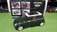 MINI COOPER Vert Green au 1/18 KYOSHO 08553G voiture miniature