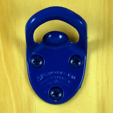 Blue CAVALIER Type Starr Wall Mount Bottle Opener, Powder Coated Finish NEW!