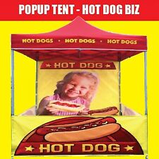HOT DOG TENT **POPUP 3Mx3M** Awesome for Market Use! Suit all Machines **BRAND**