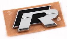 VOLKSWAGEN GOLF SCIROCCO R Trasero Cromo Autoadhesivo adhesivo con el logotipo insignia emblema