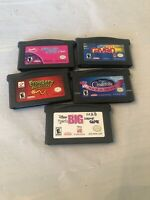 Nintendo Gameboy Advance Video Games Lot Of 5 (Lot 6)