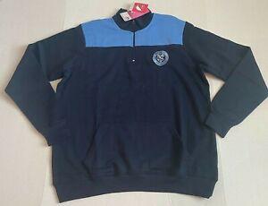 Womens 2X XL MLS Soccer New York City Football Club 1/4 Zip Pullover Sweatshirt