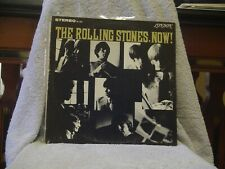 """ROLLING STONES NOW """"HEART OF STONE"""" LONDON STEREO LP ORIGINAL 1965 ISSUE"""