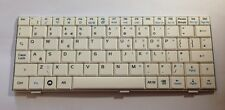 ASUS EEE PC Netbook UK Keyboard 04GN011KUK10 V072462AK1 WHITE