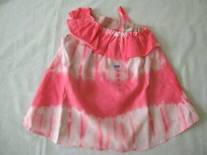 The Children's Place TCP 3-6 months Pink Tie Dye Dress Diaper Cover New