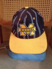 Vintage Michigan Wolverines The Classic Starter SnapBack Hat Cap Youth Size