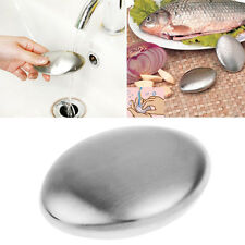 Edelstahl Magisch Seife beseitigt Knoblauch/Zwiebel usw riecht Küchen Gerät