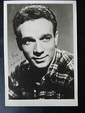"Dane Clark Autographed 5"" X 7"" Photograph from Estate"