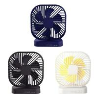 Magnetic USB Fan USB or AA Battery Powered Desk Fan with 3 Speed Timing Function