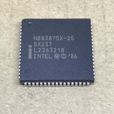 1Pcs Arithmetic Processor Plcc-68 N80387Sx-25 N80387Sx25