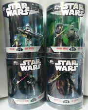 2007 Star Wars • Order 66 series 2 • 2 Figure Packs • Lot of 4 • #3, 4, 5, 6