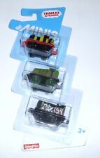 Thomas & Friends Minis Train Engine Collector's 3 Pack James Gator Paxton New