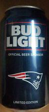 New England Patriots Bud Light Bier Dose Limited Kick Off Edition 2016 Tom Brady