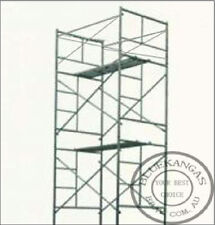 5m High Mobile Steel Scaffold Scaffolding Tower Platform With 1m Safety Rail