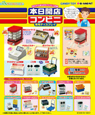 Re-ment Miniature 2006 Convenience Store Opened Today Full Set of 10 NEW HTF