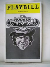 THE ROBBER BRIDEGROOM Playbill BARRY BOSTWICK / RHONDA COULLET NYC 1976