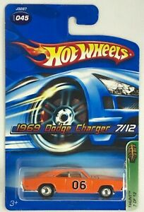 2006 Hot Wheels Treasure Hunts 1969 Dodge Charger Limited Edition Rare # 7 Of 12