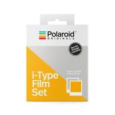 Polaroid película set I-tipo (1 color - 1 b&w) = 16 pintarnos. sin batería para cámara i-1