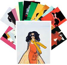 Postcards Pack [24 cards] Fashion Girls Vintage Vogue Magazine by R Gruau CC1132