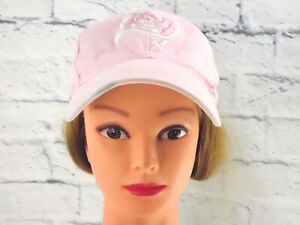 PINK TAMPA BAY BUCCANEERS Women's Embroidered Hook & Loop Adult Baseball Cap Hat