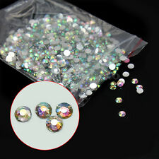 1000x Strass Brillantini Unghie Nail Art 3mm Decorazione Manicure DIY Fai Da Te