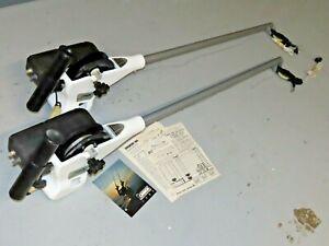 Set of 2 1985 Cannon Magnum 10A Downriggers 3' Beam w/Original Receipt/Manual