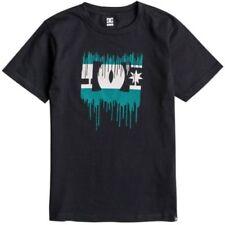T-shirts et hauts noirs coton mélangé DC pour garçon de 2 à 16 ans