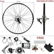 "Hub Motor 36V250W 700C 28"" Front Motor E-Bike Conversion Kit Retrofit Kit DIY"