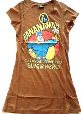 ladies the dandy bananaman brown T Shirts night shirt or p.j top